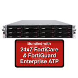 Fortinet FortiMail-3000E / FML-3000E Email Security Appliance Enterprise ATP Bundle with 24x7 Forticare and FortiGuard - 1 Year