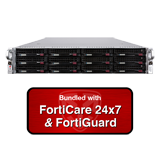 Fortinet FortiMail-3000E / FML-3000E Email Security Appliance Bundle with 1 Year 24x7 Forticare and FortiGuard