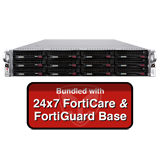 Fortinet FortiMail-3200E / FML-3200E Email Security Appliance Base Bundle with 24x7 Forticare and FortiGuard - 1 Year