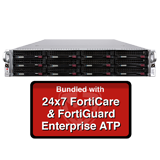 Fortinet FortiMail-3200E / FML-3200E Email Security Appliance Enterprise ATP Bundle with 24x7 Forticare and FortiGuard - 1 Year