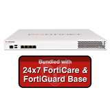 Fortinet FortiMail-400E / FML-400E Email Security Appliance Base Bundle with 24x7 Forticare and FortiGuard - 1 Year