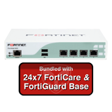 Fortinet FortiMail-60D / FML-60D Email Security Appliance Base Bundle with 24x7 Forticare and FortiGuard - 1 Year