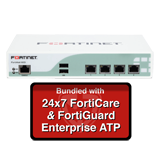 Fortinet FortiMail-60D / FML-60D Email Security Appliance Enterprise ATP Bundle with 24x7 Forticare and FortiGuard - 3 Year
