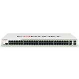 Fortinet FortiSwitch 348B, L2 Switch, 48 Port Gigabit Switch, 2x Shared Media Pairs (4x GE RJ45, 4x GE SFP)