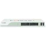 Fortinet FortiSwitch 224B-POE, 24 Port PoE Gigabit Ethernet Switch (16x PoE, 4x PoE+ & 4x Shared Media Pairs