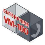 Fortinet FortiVoiceEnterprise-VM-100 Software - Supports 100 Phone Extensions and 16 VoIP Trunks