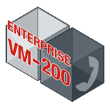 Fortinet FortiVoiceEnterprise-VM-200 Software - Supports 200 Phone Extensions and 24 VoIP Trunks
