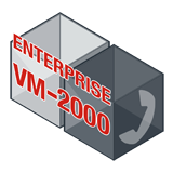 Fortinet FortiVoiceEnterprise-VM-2000 Software - Supports 2000 Phone Extensions and 200 VoIP Trunks