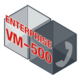 Fortinet FortiVoiceEnterprise-VM-500 Software - Supports 500 Phone Extensions and 50 VoIP Trunks