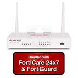 Fortinet FortiWiFi-30E / FWF-30E Next Generation (NGFW) Firewall Appliance Bundle with 1 Year 24x7 FortiCare and FortiGuard