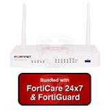 Fortinet FortiWiFi-50E / FWF-50E Next Generation (NGFW) Firewall Appliance Bundle with 1 Year 24x7 FortiCare and FortiGuard