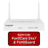 Fortinet FortiWiFi-60E / FWF-60E UTM Bundle with 3 Years 24x7 Forticare and FortiGuard