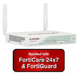 Fortinet FortiWiFi-60CM / FWF-60CM Wireless UTM Security Appliance Firewall Bundle w/ 1 Year 24x7 Forticare & FortiGuard Bundle