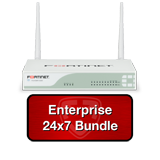 Fortinet FortiWiFi-60D / FWF-60D Next Gen Firewall Wireless UTM Bundle with 1 Year 24x7 Enterprise FortiCare + FortiGuard