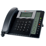 Fortinet FortiFone-350i / FON-350i Business VOIP SIP Phone, LAN 10/100 ,PC 10/100, PoE, with Power Adapter, up to 6 lines