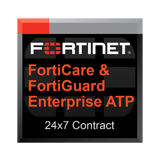 Fortinet FortiMail-VM VM-08 Support 24x7 FortiCare plus FortiGuard Enterprise ATP Bundle Contract - 1 Year