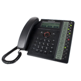 Fortinet FortiFone-560i / FON-560i VOIP SIP Phone, 10/100/1000 Lan/PC, PoE, with Power Adapter , 22 up to 46 lines