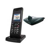 Fortinet FortiFone-860i TS-860i Hybrid Cordless DECT Phone Handset, Range up to 300m, 10 Hour Talk Time
