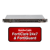 Fortinet FortiSwitch 5203B Networking Blade - 8x 10GbE SFP+ Slots, 2x 10GbE SFP+ Ports w/ 1 Year 24x7 Forticare & FortiGuard