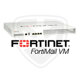 Fortinet FortiMail-VM VM-00 Software Virtual Appliance - 1 x vCPU core, Supports up to 2 Email Domains