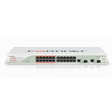 Fortinet FortiSwitch 248B-DPS, 48 Port 10/100/1000 Copper Gigabit Ethernet, 4 Dual Speed 1GbE/10GbE Ports
