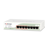 Fortinet FortiSwitch 80-POE, 8 Port 10/100/1000 IEEE 802.3af PoE Switch, 62W Dedicated PoE Power Share on 4 Ports