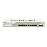 Fortinet FortiSwitch 108D-POE, 8 Port 10/100/1000 Layer 2 PoE Ethernet Switch