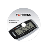 Fortinet FortiToken 200 20-Pack One-Time Password Token, Time Based Password Generator, encrypted seed file on CD