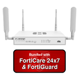 Fortinet FortiWiFi-30E-3G4G / FWF-30E-3G4G Next Generation (NGFW) Firewall Appliance Bundle + 1 Yr 24x7 FortiCare and FortiGuard