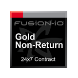 Fusion-io ioDrive2 1.2TB Gold Non-Return 24x7 Support Contract - 1 Year
