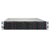 HPE Apollo kl20 Server - Up to (4) Intel Xeon Phi Processors, up to (24) HPE 2400 MHz DDR4 DIMMs, up to (12) SFF HDDs or SSDs
