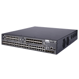 HP / Aruba 5800-48G-PoE+ TAA-compliant Switch with 2 Interface Slots - 48 Port Managed Ethernet Switch