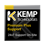 Kemp LoadMaster LM-3400 Load Balancer 1 Year Premium Plus 24x7 4-Hour On-site Extension / Renewal Support Contract, including On