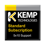 Kemp LoadMaster OS License Bare Metal Servers  for LMB-1G - 1 Year Standard 5x10 Support Add-on or Renewal Support Contract