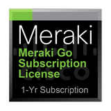 Cisco Meraki Go Subscription License for 1 Year