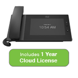 Cisco Meraki MC74 VoIP Cloud Managed Phone Bundle with 1 Year MC Series Cloud License