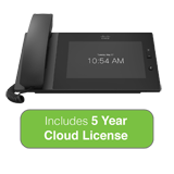 Cisco Meraki MC74 VoIP Cloud Managed Phone Bundle with 5 Years MC Series Cloud License
