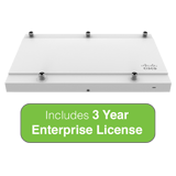 Cisco Meraki MR42E Cloud-managed 3x3 MIMO 802.11ac Wave 2 Access Point with 3 Year Enterprise License