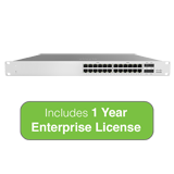 Cisco Meraki MS120-24 L2 Cloud-Managed Switch with 1 Year Enterprise License