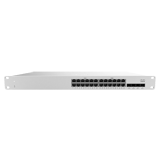 Cisco Meraki Cloud Managed MS210 Series 24 Port Gigabit Switch - 24x 1GbE Ports, 4 × 1GbE SFP Uplink, 128Gbps Switching Capacity