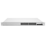Cisco Meraki Cloud Managed MS250 Series 24 Port Gigabit Switch - 24x 1GbE Ports, 4x SFP+ 10G Uplink Interfaces