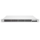 Cisco Meraki Cloud Managed MS250 Series 48 Port Gigabit Switch - 48 × 1GbE Ports, 4 × SFP+ for 10G Uplink Interfaces