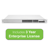Cisco Meraki Cloud Managed MS350-24X Switch with 3 Years Enterprise License
