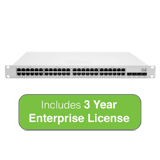 Cisco Meraki Cloud Managed MS350 Series 48 Port Gigabit Switch with 3 Years Enterprise License & Support