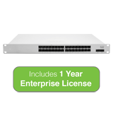 Cisco Meraki MS425 Series Cloud Managed 32-Port 10GbE Switch Bundle - Includes 1 Year Enterprise License