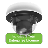 Meraki MV12WE Cloud Managed Indoor Camera with 3 Year Enterprise License