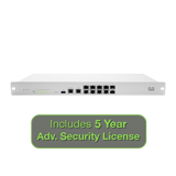 Meraki MX100 Security Appliance with 5 Years Advanced Security License