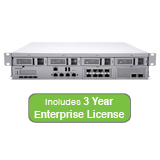 Cisco Meraki MX600 Security Appliance Bundle, 2 Gbps FW, 8x GbE, 8x GbE(SFP) & 4x 10GbE (SFP+) with 3 Years Enterprise License