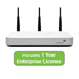 Cisco Meraki MX60W Wireless Security Appliance Bundle, 100Mbps FW, 5xGbE Ports - Includes 1 Year Enterprise License