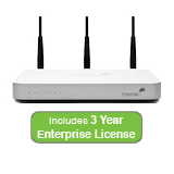 Cisco Meraki MX60W Wireless Security Appliance Bundle, 100Mbps FW, 5xGbE Ports - Includes 3 Years Enterprise License